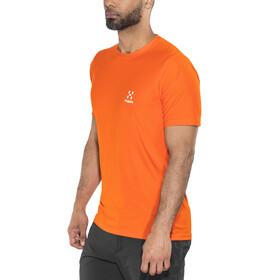 Haglöfs L.I.M Tech - Camiseta manga corta Hombre - naranja